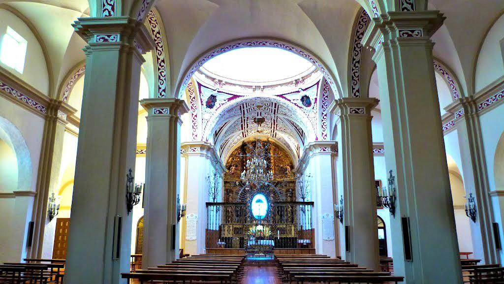 Interior de la Basílica de Nuestra Señora del Romero, Cascante - Turismo en Navarra