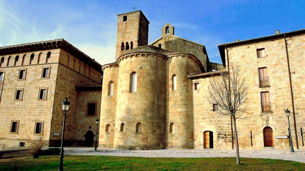 Monasterio de Leyre - Turismo en Navarra
