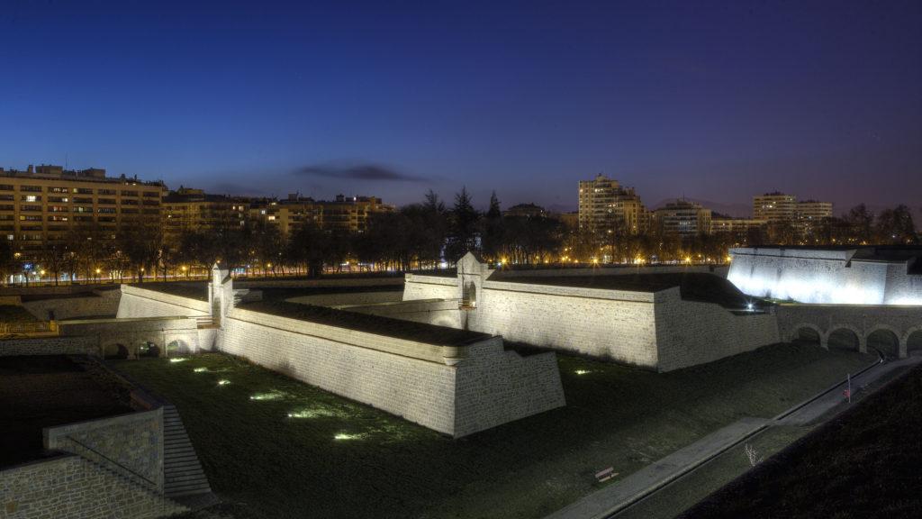 Las Murallas de Pamplona. La Ciudadela - Turismo en Navarra